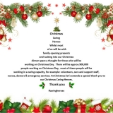 Thanks for Caring - Christmas #CaringHeroes
