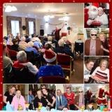 Santa stops at Springhill Care Home