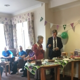 Charity bake-off at Springhill